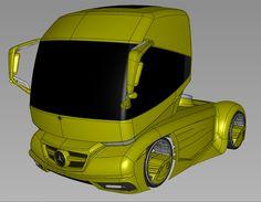 Alias Model Concept truck by Ronaldo Lopes