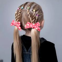 SCHOOL HAIR STYLES Here are some cute school hairstyles for your little ones! – … – SCHOOL HAIRSTILE Here are some cute school hairstyles for your little ones … - Dinnerrecipeshealthy sites Girls Hairdos, Flower Girl Hairstyles, Fancy Hairstyles, Braided Hairstyles, Cute Little Girl Hairstyles, Black Hairstyles, Vintage Hairstyles, Curly Hair Styles, Cute Hairstyles For School