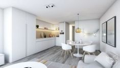 Appartement P - Lippenslaan Knokke - Lievois Home Interior Design, Divider, Architecture, Kitchen, Room, House, Furniture, Home Decor, Home