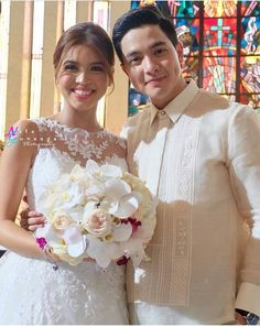Maine Mendoza, Now And Forever, Flower Girl Dresses, Italy, Couple Photos, Couples, My Style, Wedding Dresses, Celebrities