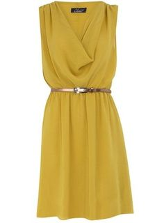 sunshine-yellow dress by Charity Faith