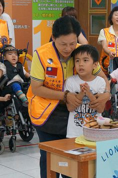 Tzu Tsai Lions Club (Taiwan) | Lions provided care for children with disabilities
