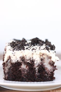 You are going to love this Oreo Pudding Poke Cake! Homemade chocolate cake, combined with delicious Oreo pudding, and topped with homemade whipped cream and more Oreos. This chocolate cake recipe is my absolute favorite, and I knew it would make an absolutely perfect poke cake. The cake is already rich and moist, and the …