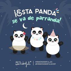 "46.3k Likes, 893 Comments - Mr. Wonderful Official (@mrwonderful_) on Instagram: ""¡Menuda pandilla! ¿Quién se une a la fiesta? #mrwonderfulshop #felizviernes  The gang are going out…"""