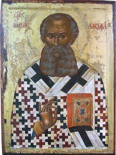 St Athanasius, Byzantine Icons, Name Day, Orthodox Icons, Old Ones, Saints, Religious Art, Brave, Catholic