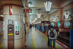 Japan . Osaka . 日本 . 大阪  Nippombashi Station a station that still preserve the old school florescent light system at the platform area  http://ift.tt/2u2gP0H  #japan #osaka  #instagramers #instagram #insta #instatravel #instatravelling #instatraveller #instaphoto #instajapan #instalike #instagood #instago #instashoot #instaphotography #travelblogger #travel #traveller #travelling #traveling #travelphotography #travelphoto #photographysouls #photographer #photooftheday #japanlicius