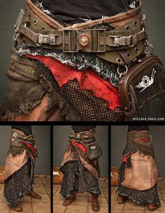 Post-Apocalyptic Skirt v2 by NuclearSnailStudios.deviantart.com on @deviantART