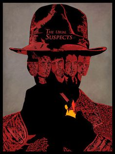 BROTHERTEDD.COM - theacademy: The Usual Suspects. This poster is...