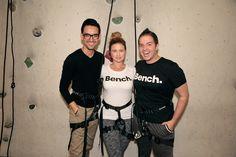 Julio Reyes, Catherine Sugrue, Daniel Desforges #TeamBench