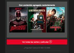 Tenemos aquí unas recomendaciones excelentes que debes ver!! Netflix tiene para ti estrenos y más estrenos!!