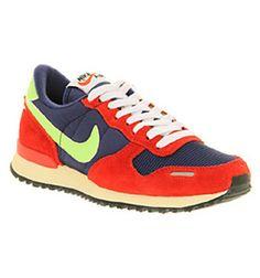 Nike AIR VORTEX VINTAGE BLU/RED/YEL/SIL Shoes - Nike Trainers