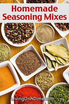 Homemade Seasonings Mixes And Blends Recipes Try these homemade seasoning mix recipes, which are easy to make and can save you a lot of money. Check here for some easy recipes for seasoning mixes. Homemade Seasonings, Homemade Spices, Do It Yourself Food, Seasoning Mixes, Italian Seasoning, House Seasoning Recipe, Fajita Seasoning, Poultry Seasoning, Chicken Seasoning