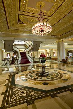 MARDAN HOTEL PROJECT BY LUMES CHANDELIERS