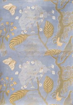 little augury: Glorious Papers for all Seasons-Marthe Armitage-Hamilton Weston Print Wallpaper, Fabric Wallpaper, Pattern Wallpaper, Chinoiserie, Textures Patterns, Print Patterns, Fabric Patterns, Art Graphique, Surface Pattern Design