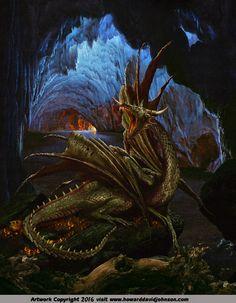 The Dragon Nidhoggr The Johnson Galleries Reprint 0