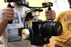 7 Brushless Gimbal Handheld Camera Rigs For Your RED Camera: