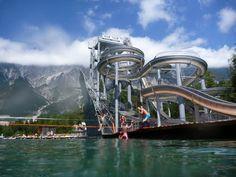 Best-Water-Parks-In-The-World-Area-47-Innsbruck,-Austria