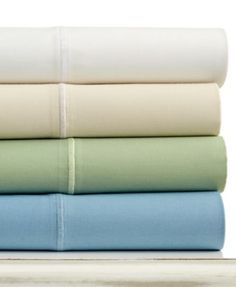 Martha Stewart Collection 325 Thread Count Custom Fit Sheet Sets | macys.com