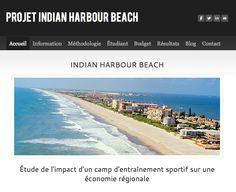 Jean Felix Brouillette - Analyse des impacts économiques des camps d'athlètes en Floride - Indian Harbour Beach, FL - USA