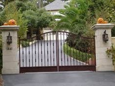 Wrought Iron Fence Privacy Panels Backyard Pinterest