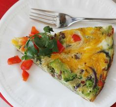 This easy 20-minute frittata is packed with protein and veggies. This is a great method to have in your repertoire.