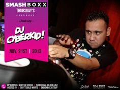 SMASHBOXX Ultra Club – THURSDAY Elevate Your Sounds – 11.21.2013