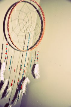 I made my first dreamcatcher! it was easy!
