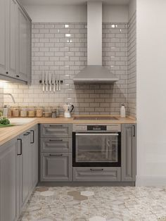 New Kitchen Backsplash Tile House 68 Ideas Diy Kitchen Cabinets, Kitchen Tiles, Kitchen Colors, Kitchen Flooring, New Kitchen, Kitchen Grey, Kitchen Counters, Kitchen Small, Soapstone Kitchen