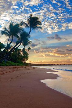 Ka�anapali Beach, Maui, Hawaii.