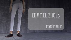 Enamel shoes at ChiisSims – Chocolatte Sims via Sims 4 Updates
