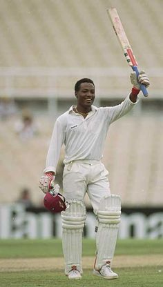 One of cricket's greatest left handed batsman that the world ever witnessed! #BrianLara #Cricket #WestIndies