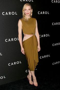 Cate Blanchett Carol Estreno Nueva York Lanvin 2