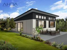 Home Design Drawings Modern Container House Design Ideas 04407 - Modern Container House Design Ideas 04407 Container Home Designs, Container Homes, House Roof, Facade House, Small House Plans, House Floor Plans, Mobile Home Bathrooms, Outside Patio, Roof Design