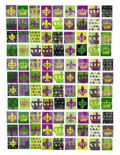 Fleur De lis and Crowns