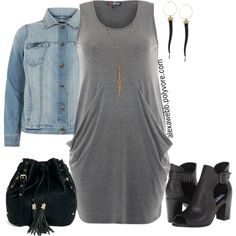 Simple - Plus Size, created by alexawebb on Polyvore