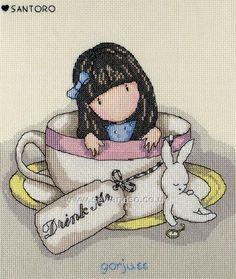 Buy+Sweet+Tea+Cross+Stitch+Kit+Online+at+www.sewandso.co.uk