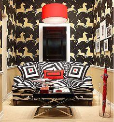 scalamandre zebra zebra wallpaper