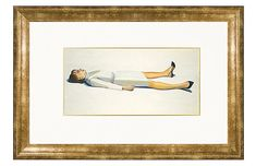Wayne Thiebaud, Supine Woman, 1963 - Munn Works - Brands One Kings Lane Wayne Thiebaud, San Francisco Museums, Poster Prints, Art Prints, Posters, Museum Of Modern Art, American Art, Art Decor, Decor Ideas