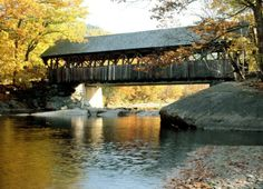 Artist's Covered Bridge, Sunday River, Newry, Maine