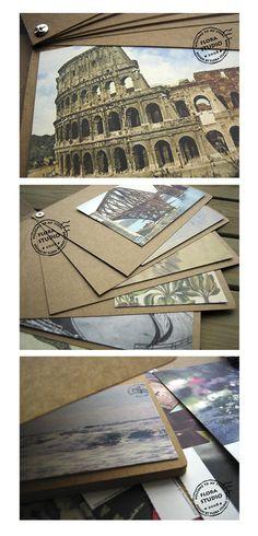Album Photo bricolage Kraft Kraft Scrapbook Album de
