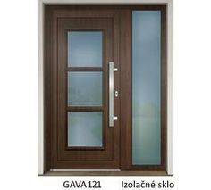 GAVA 121 Nussbaum vchodové dvere Bedroom Closet Design, Fence Design, Glass Doors, Bathroom Medicine Cabinet, Mirror, House, Furniture, Home Decor, Ideas