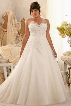 Wedding Dress For Sale 2014 Plus Size Wedding Dresses Sweetheart Sleeveless Beaded Crystal Sequined Court Train A Line Tulle Lace Bridal Gowns Custom Made W139 Long Sleeve Wedding Gowns From Kiss_dress, $135.08| Dhgate.Com