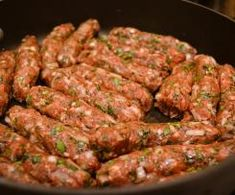 Kefta/kafta kabob ground beef delights from simply lebanse. Lebanese Recipes, Turkish Recipes, Greek Recipes, Indian Food Recipes, Lebanese Cuisine, Persian Recipes, Ethnic Recipes, Kabob Recipes, Asian Food Recipes