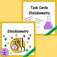 Reinforce the skills of identifying limiting reagent, calculating theoretical yield, and percent yield using stoichiometry in your high school chemistry course. Use the task cards, assessment, and other resources as a bell-ringer, quiz, study station, review; students will be practicing stoichiometry.Includes:Concept summary handouts for students, with detailed explanations of how to do stoichiometric calculations, including theoretical yield, limiting reagent, and percent yield.
