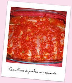 Cuisine et cetera !: Cannellonis de jambon aux épinards