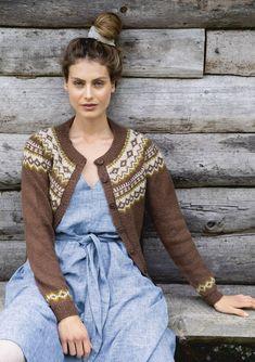 Click to enlarge Norwegian Knitting Designs, Norwegian Fashion, Ravelry, Cardigan Design, Fair Isle Knitting Patterns, Knit Fashion, Women's Fashion, Jacket Pattern, Cardigans For Women