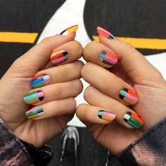 Public Service Announcement #nails #nailart #color #psa #swoosh