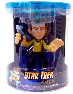 Star Trek Captain Kirk Vinyl Figure http://popvinyl.net #funko #funkopop #popvinyls