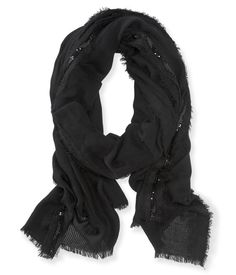Studded Lace Scarf from Aeropostale