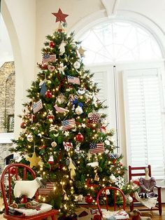 creative christmas tree themes - Pictures Of Decorated Christmas Trees